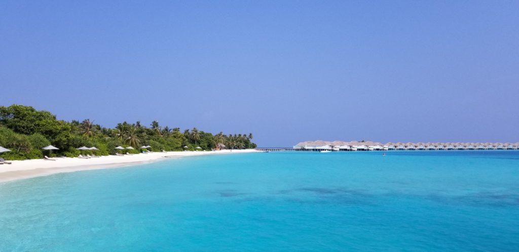 フィノールのきれいな海(モルディブ)