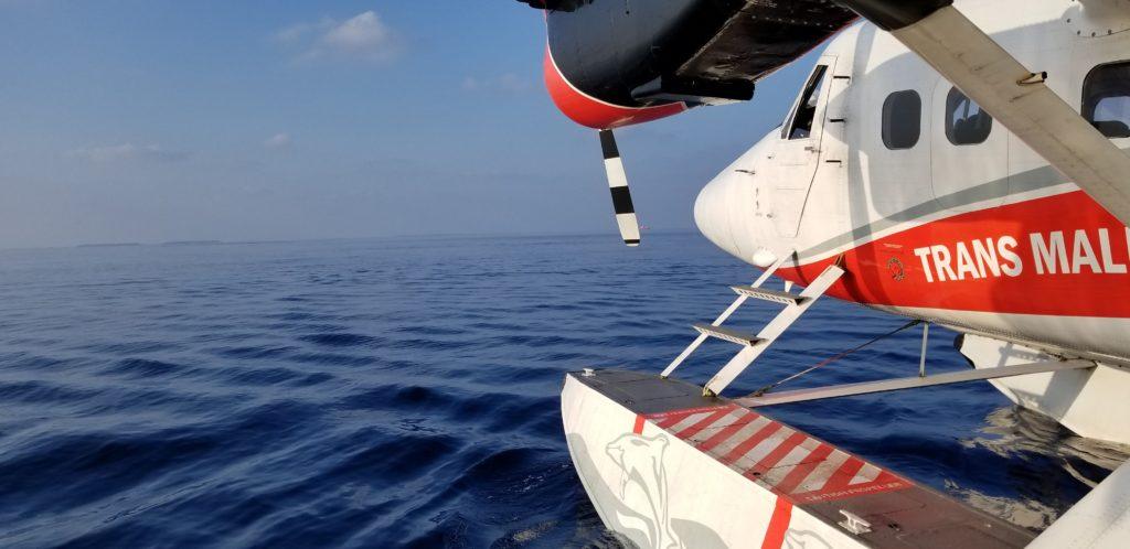 水上飛行機を間近で見れるのもうれしい体験