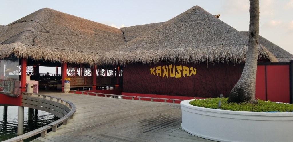 フィノールにあるレストラン「カヌサン」(モルディブ)