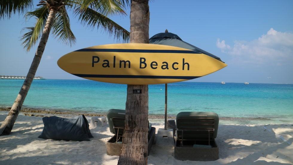 PALM BEACH(パームビーチ)はメインよりも小さめ