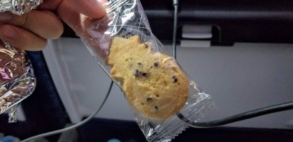 ハワイアン航空でもらえるホノルルクッキー