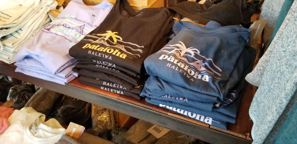 ハワイ、ハレイワにある「パタゴニア(Patagonia)」の店内3