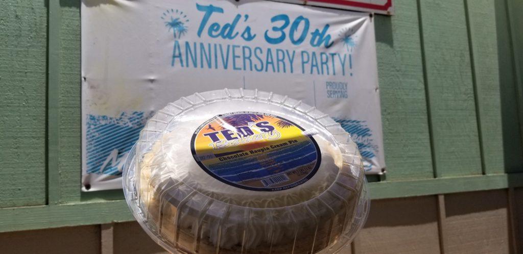 テッズベーカリーでホールのパイを買ってみた