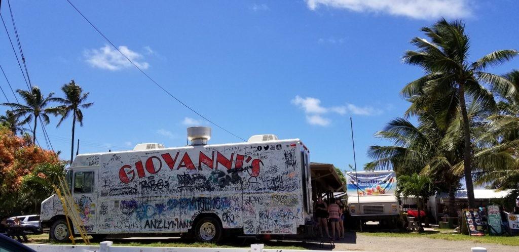 ハワイはカフクの青空とジョバンニ