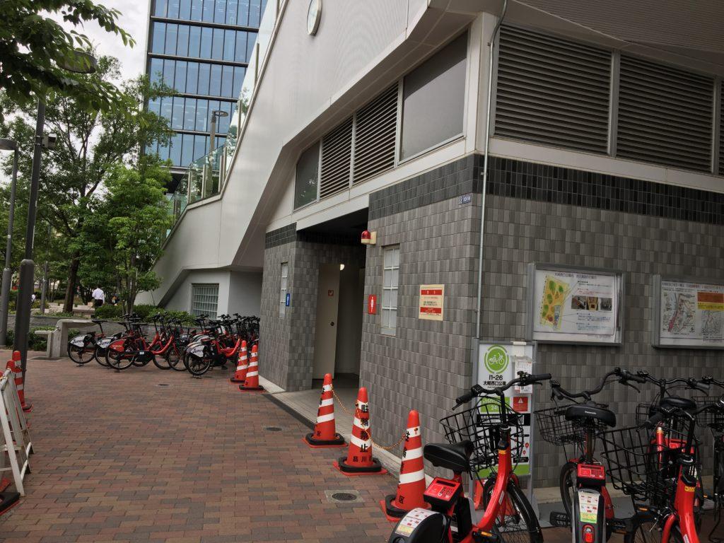 大崎駅の公衆トイレ