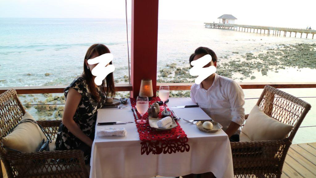 フィノールにあるレストラン「Kanusan(カヌサン)」にて