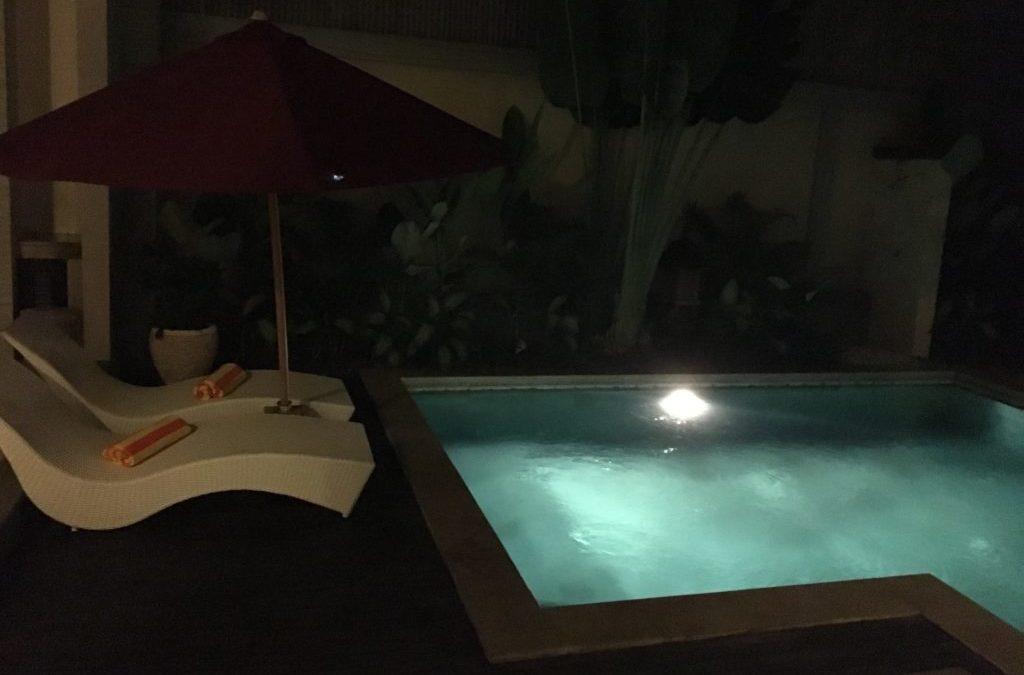 バリ島のスミニャックで宿泊したヴィラリゾート