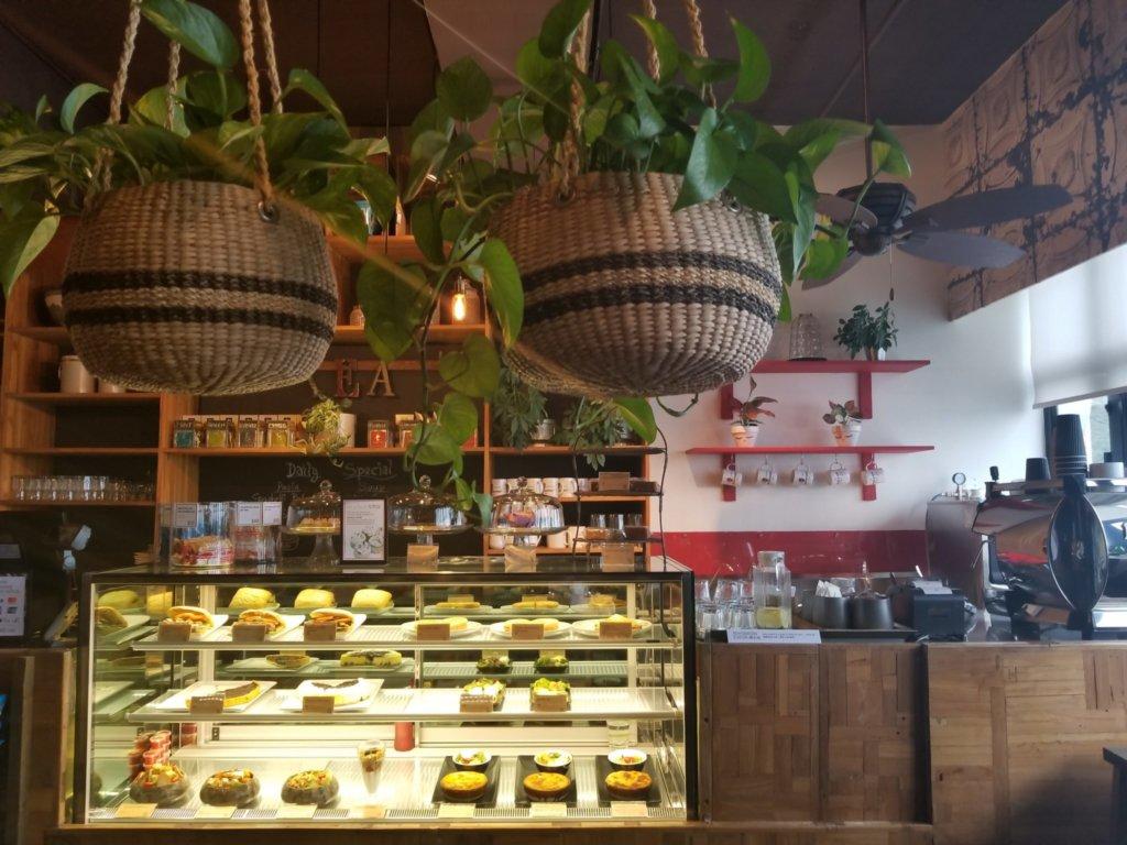 ホライズンプラザ最上階にあるTREE Cafe