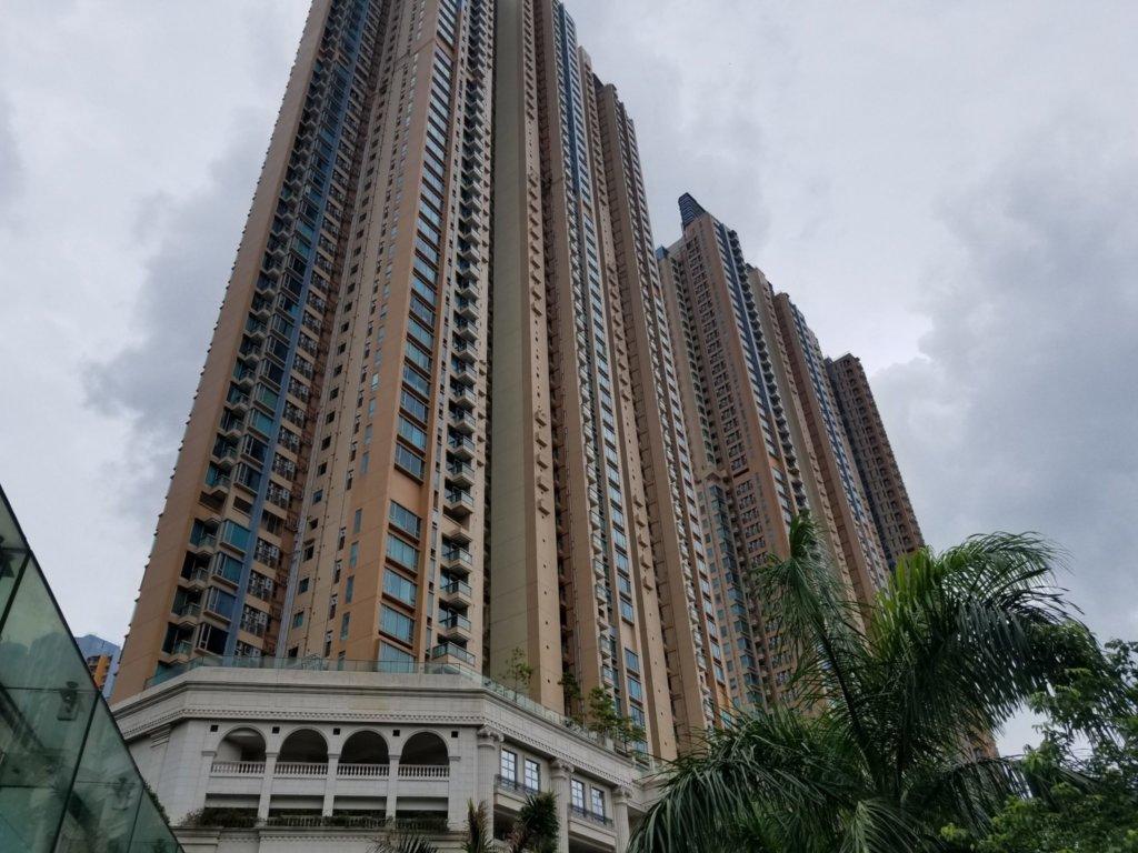 オリンピックシティー近くの高層住宅群