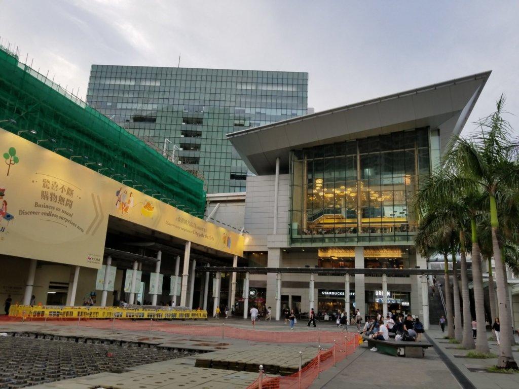 香港のシティーゲート・アウトレッツ(外観、2018年6月)