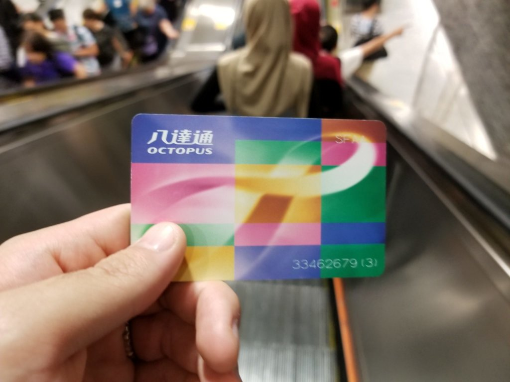 香港のオクトパスカードを駆使すればほぼキャッシュレス