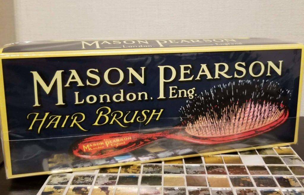 実際に購入したメイソンピアソン(MASON PEARSON)の外箱
