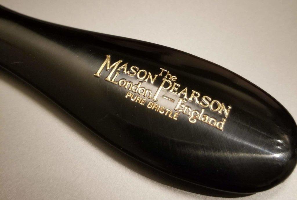 メイソンピアソンのヘアブラシの持ち手部分