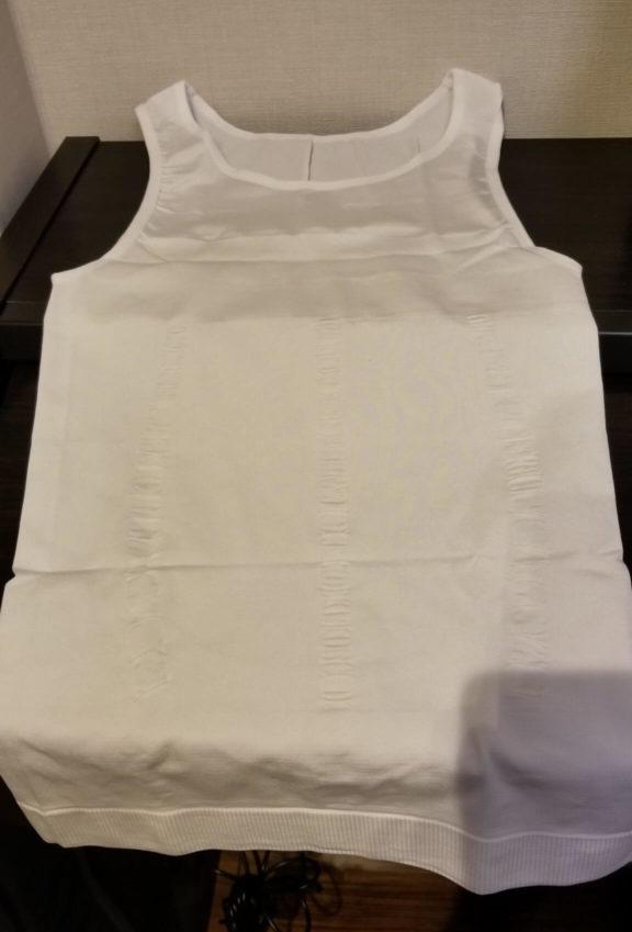 夏場はタンクトップ型の加圧シャツが相性抜群!
