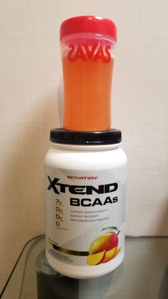 筋肉痛に悩むサラリーマンはエクステンドのBCAAを飲むとよい