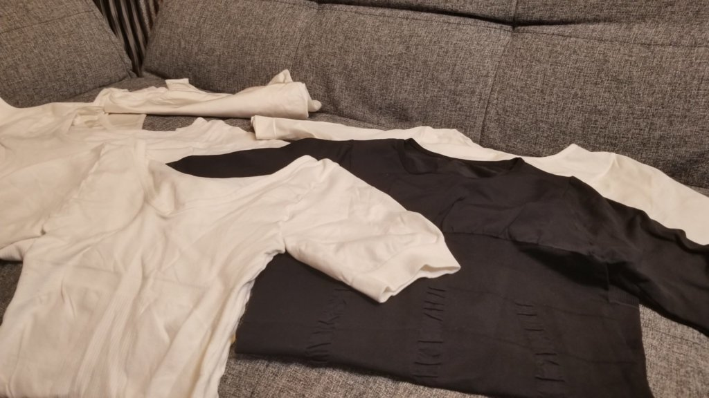 今まで試してきた加圧シャツコレクション