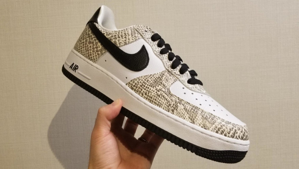 "Nike Air Force 1 Low ""Cocoa Snake"" を徹底レビュー!"