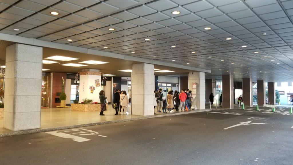 五反田TOCにある五反田行きのバス停