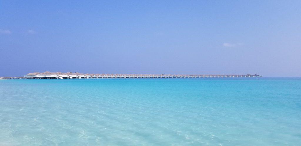 ハネムーンで宿泊したモルディブの水上コテージ