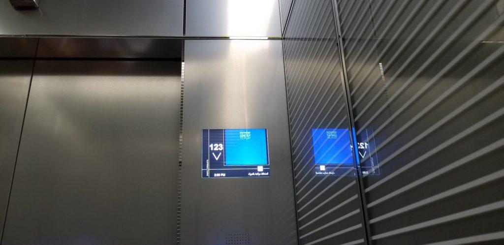 ブルジュ・ハリファのエレベーター