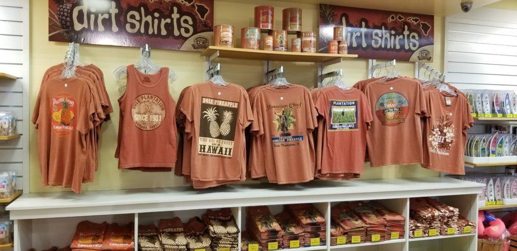 ドールプランテーションのTシャツ売り場②
