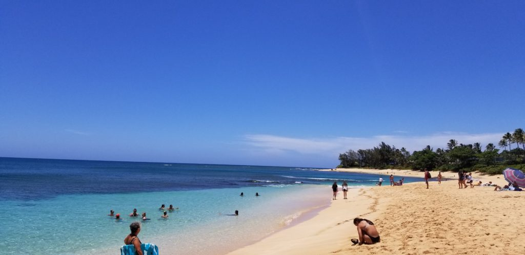 新婚旅行先で人気なハワイの「サンセットビーチ」