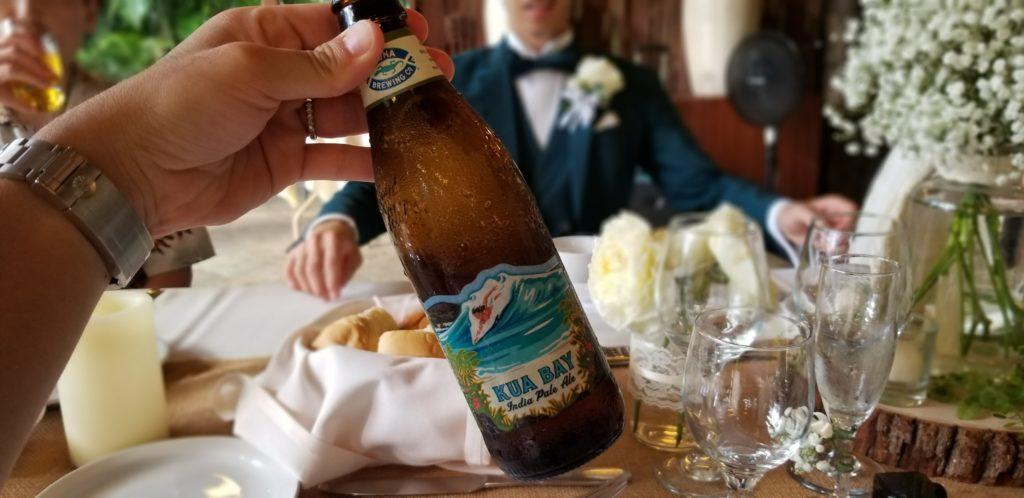 友人の結婚式にて(ハワイ)