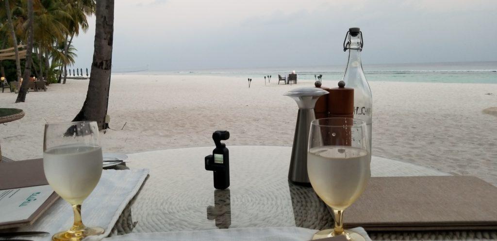 OSMO POCKETでモルディブの海をタイムラプスで撮影