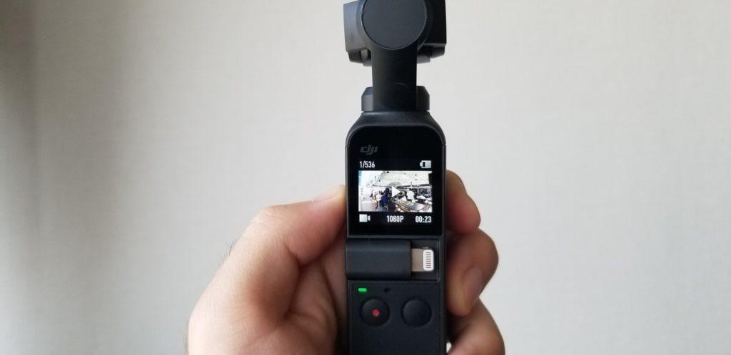 手ブレゼロの最強携帯カメラOSMO POCKET