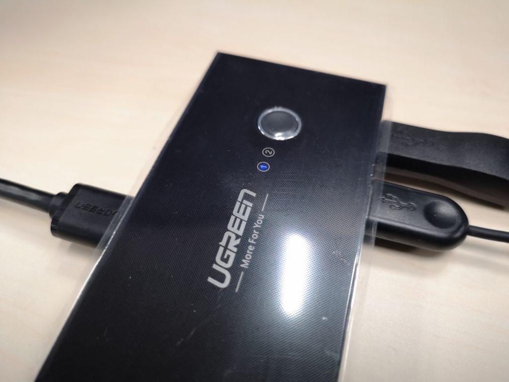 UGREEN USB切替器の見た目