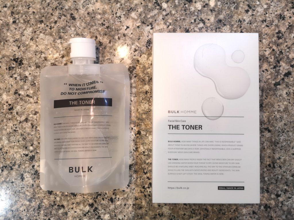 バルクオムの化粧水「THE TONER」
