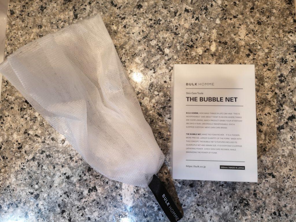 バルクオムの泡立てネット「THE BUBBLE NET」