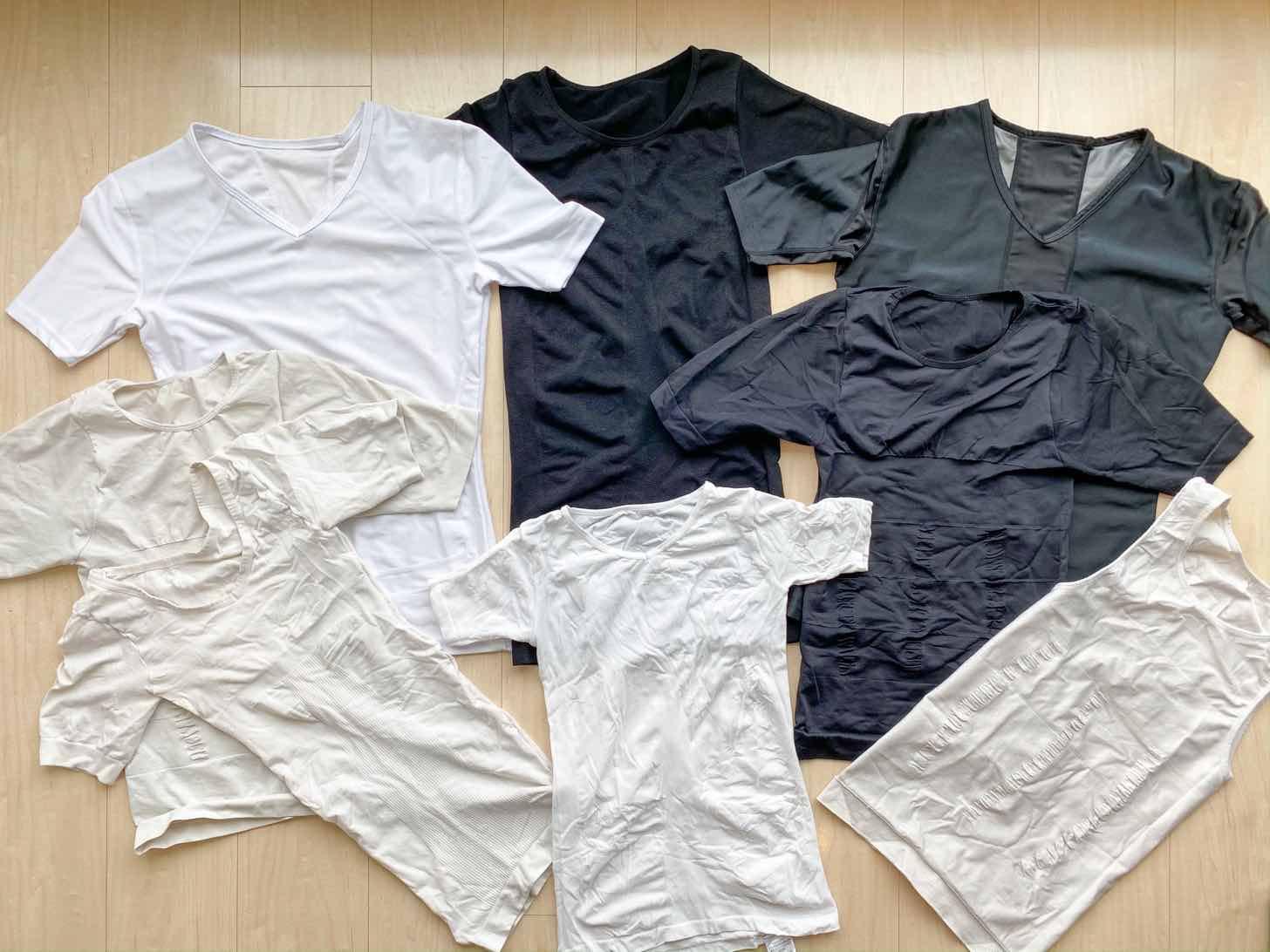 加圧シャツのコレクション