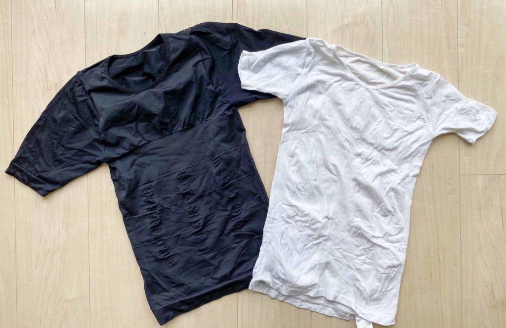 加圧シャツのボクサープレスとマッスルプレス