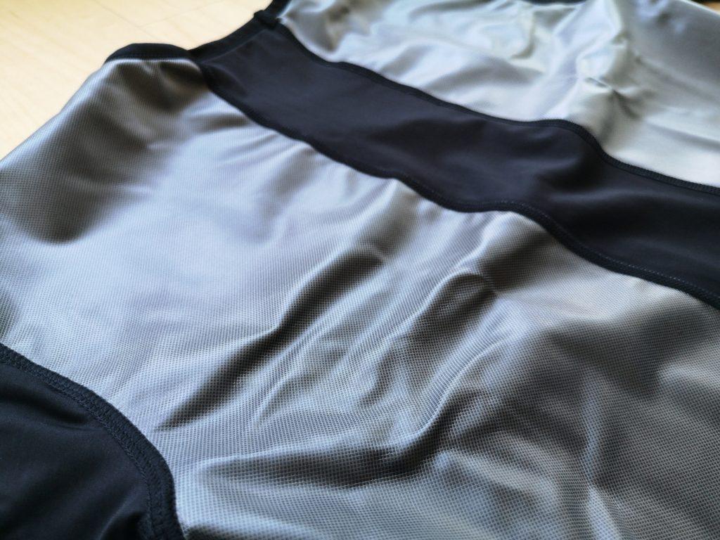 ビダンザゴーストの脇部分の縫い目