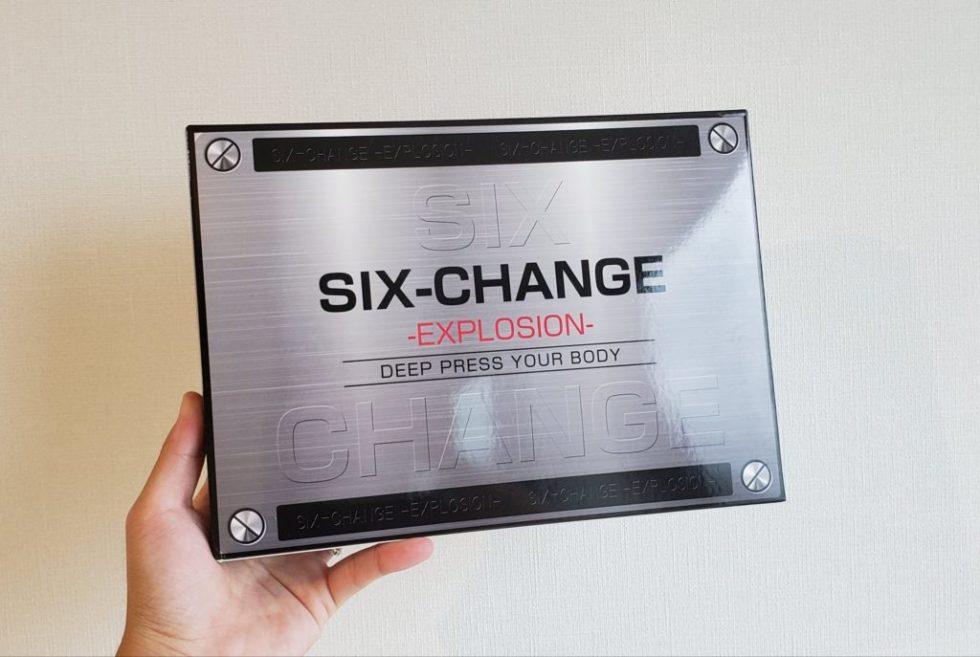 シックスチェンジの箱(表面)